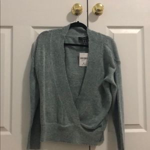 blue sweater from forever 21